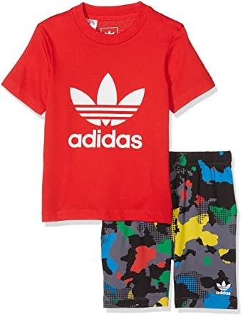 adidas Chándal Infantil Infants, Infantil, Infants, Vivid Red, 110 ...