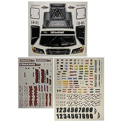 Traxxas 6813 Slash 4x4 Decal Sheet: Toys & Games [5Bkhe0802835]