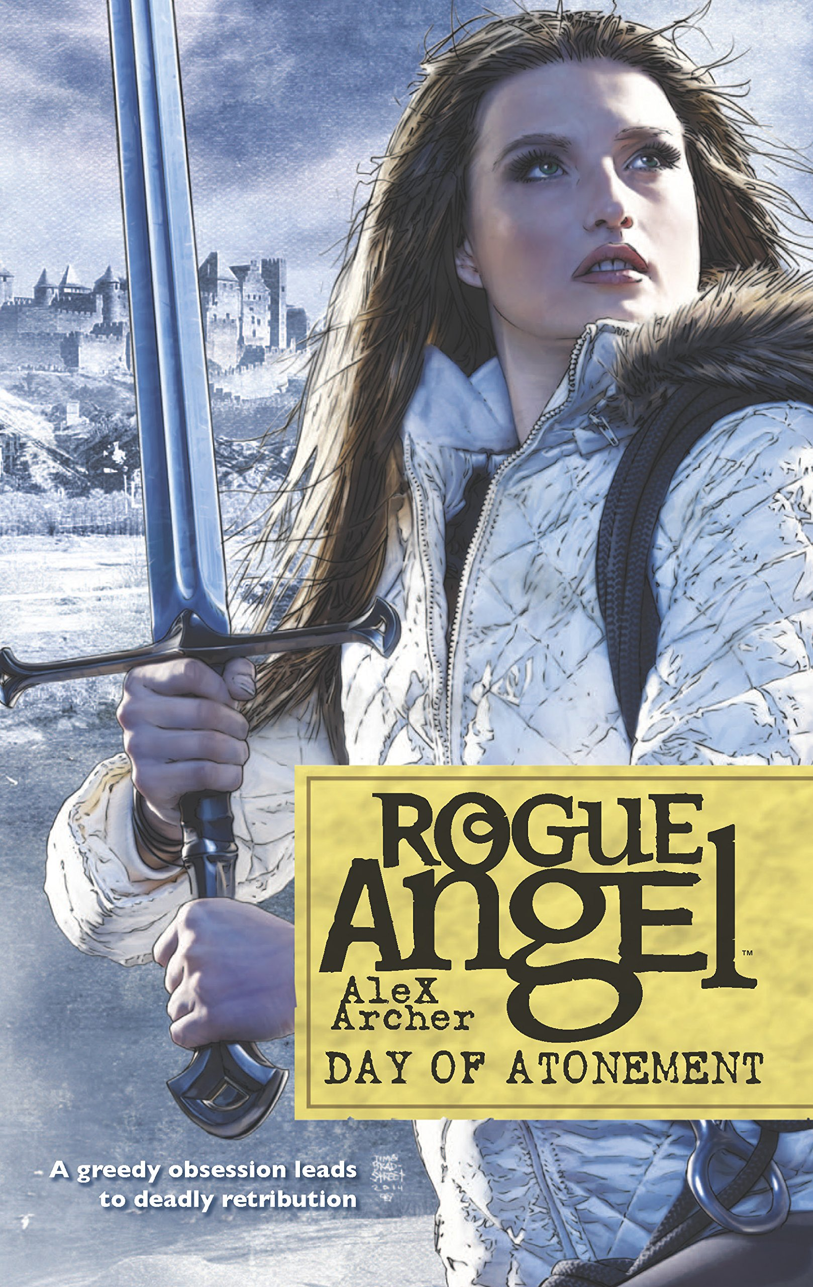 Amazon.com: Day of Atonement (Rogue Angel) (9780373621743): Alex Archer:  Books