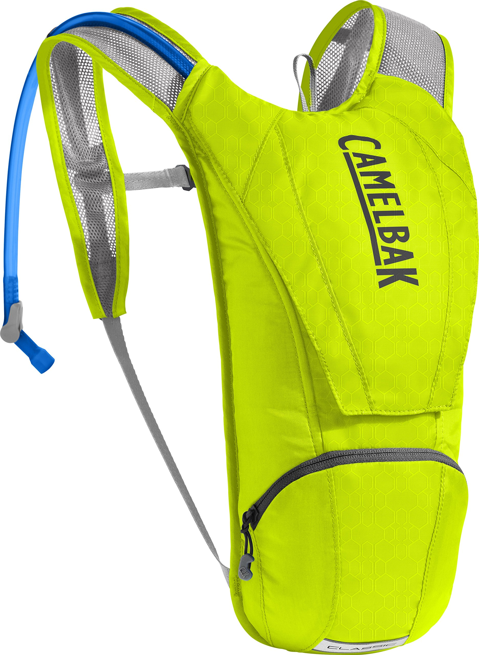 CamelBak Classic Crux Reservoir Hydration Pack, Lime Punch/Silver, 2.5 L/85 oz