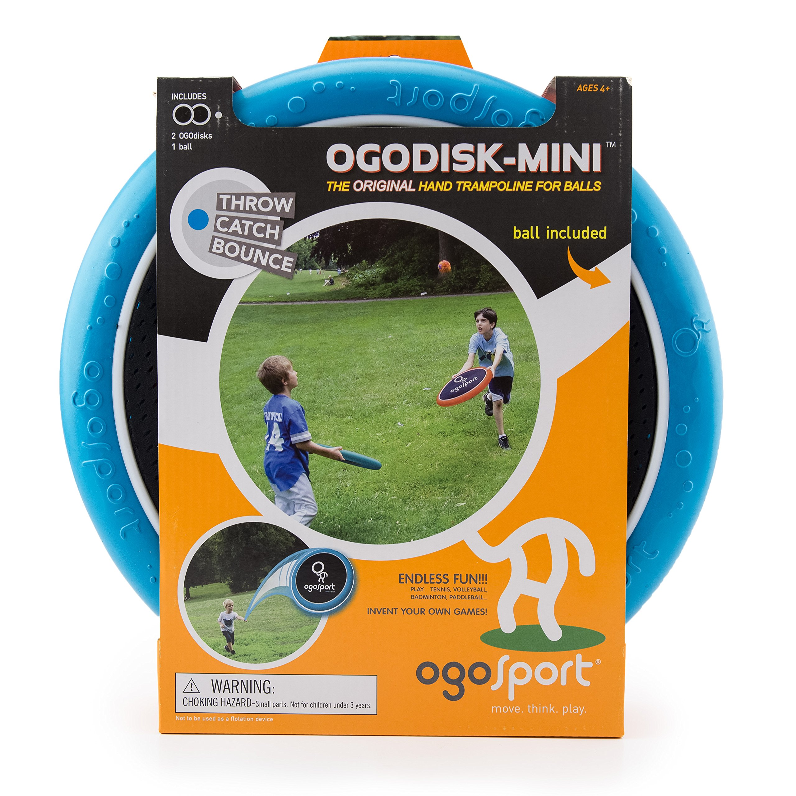 Mini Ogodisk Super Disk Set - Outdoor Family Camping Game for Kids, Adults, and Couples by Ogo Sport