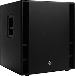 Mackie THUMP Series, 18-Inch 1200-Watt Subwoofer with Professional band-pass design Dual XLR inputs Stereo high-pass and Stereo full-range outputs - Black (THUMP18S)