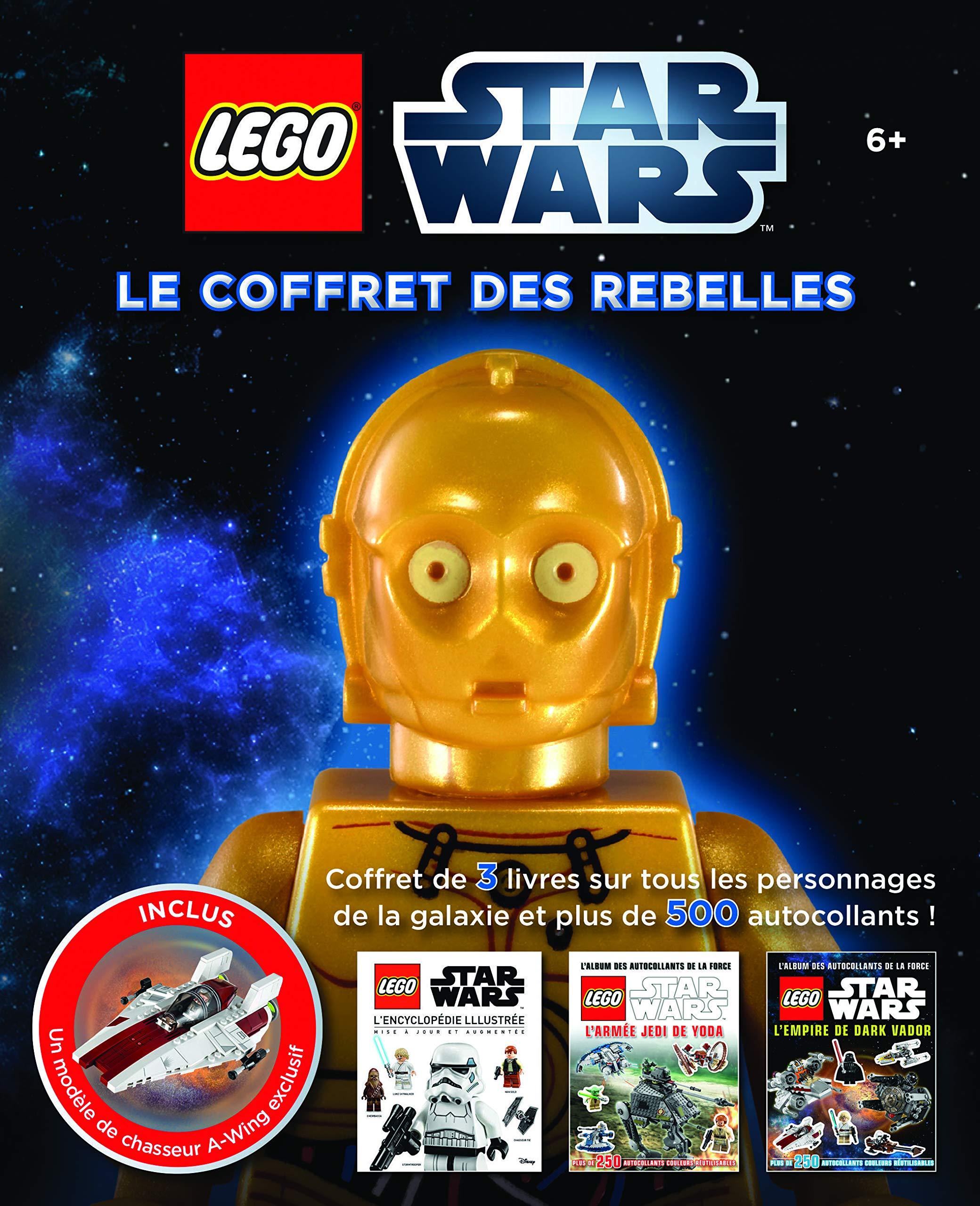 Amazon Fr Lego Star Wars Le Coffret Des Rebelles Lego Livres