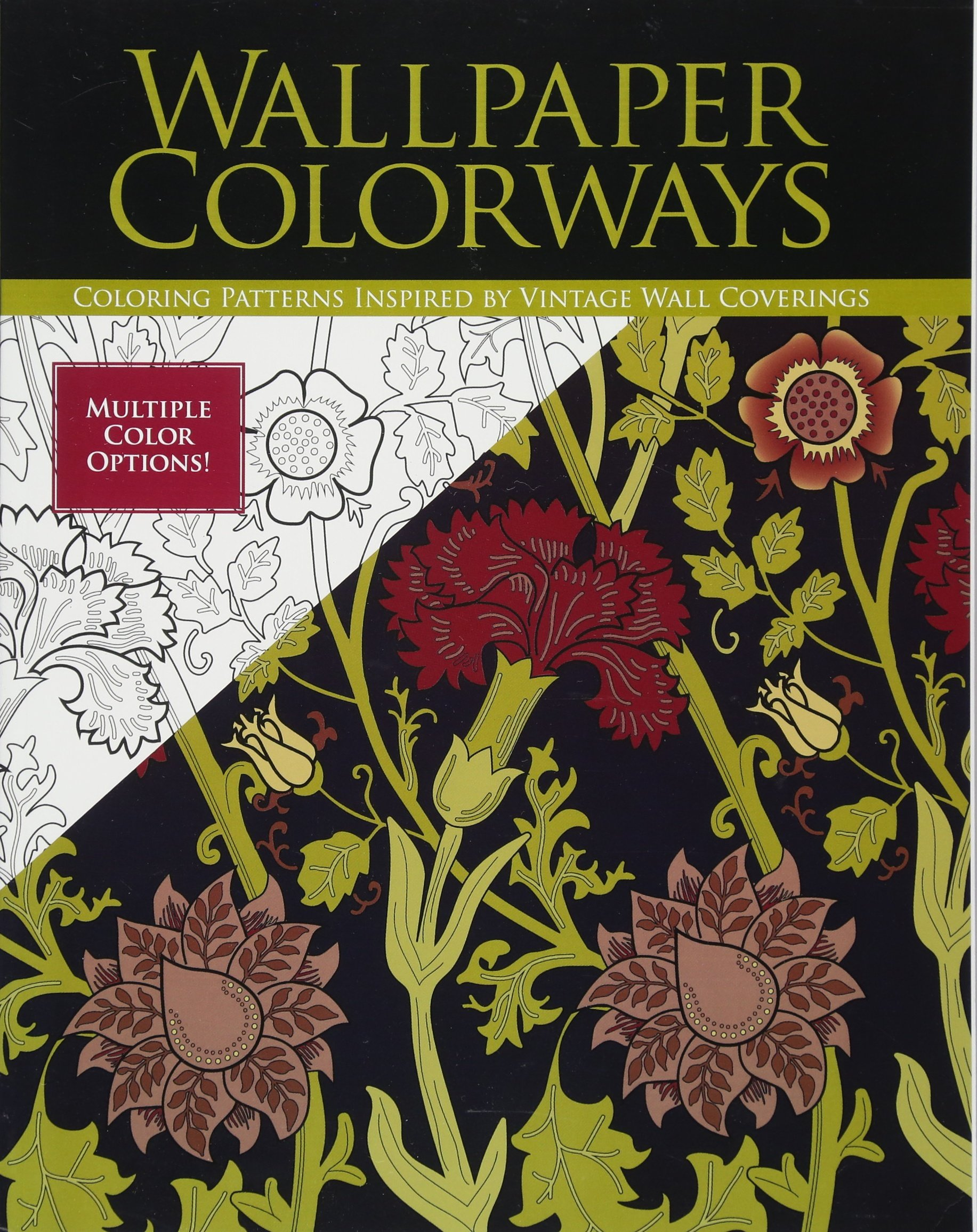 Download Wallpaper Colorways: Coloring Patterns Inspired by Vintage Wall Coverings pdf