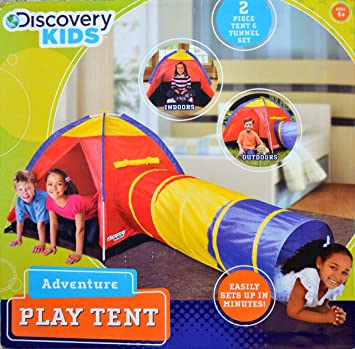 Discovery Kids Adventure Play Tent  sc 1 st  Amazon.com & Amazon.com: Discovery Kids Adventure Play Tent: Toys u0026 Games