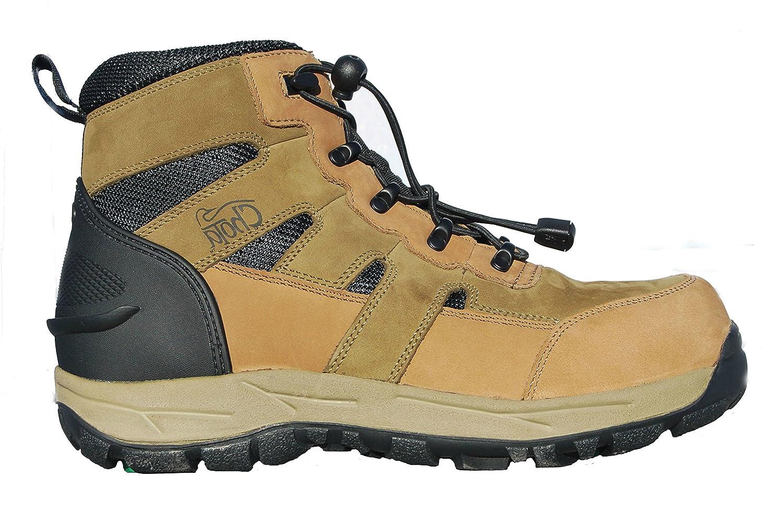 ChotaアウトドアギアWading Boots、Caneyフォーク、ゴムBottom w / Cleatコンセント、EZクイックOne Pullレースシステム  Size 14