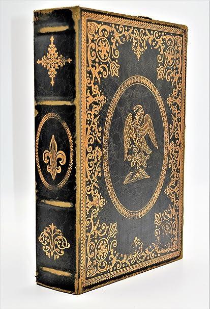 Faux Leather Decorative Storage Book /Box & Amazon.com: Faux Leather Decorative Storage Book /Box: Home u0026 Kitchen