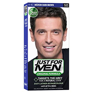 Amazon Com Just For Men H40 Medium Dark Brown Hair Color 60 Ml