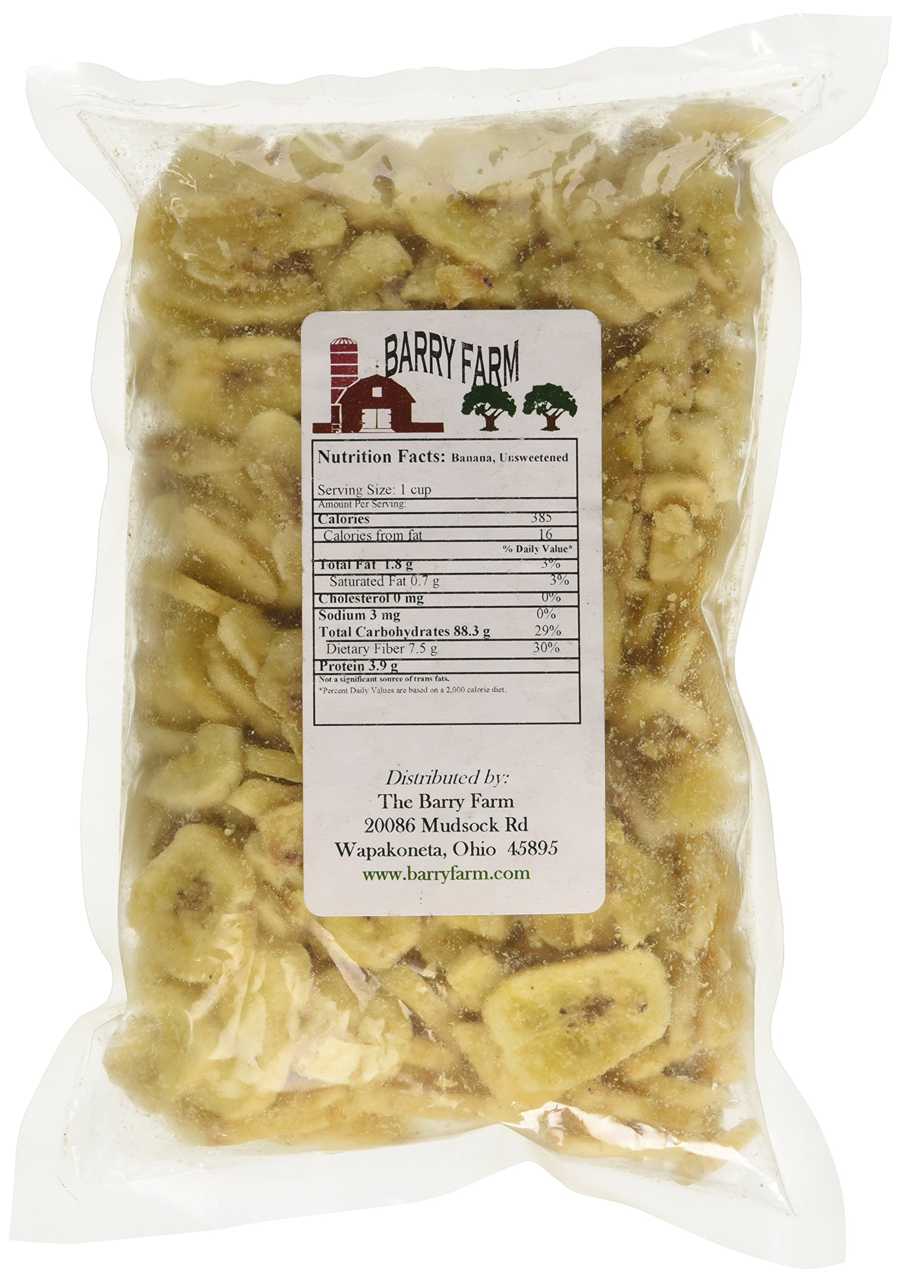 Unsweetened Banana Chips, 8 oz.