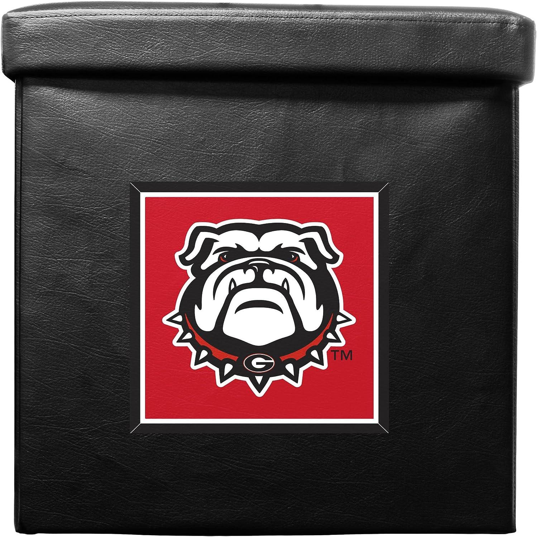 NCAA Georgia Bulldogs Foldable Ottoman Box