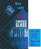 Glass Labo【 目の疲れを軽減 】 iPhone5S SE/5G用 ブルーライトカット 90% ガラスフィルム 液晶保護 ブルーライト カット iPhone5S SE 5G強化ガラス アイフォンSE 5S 5G 液晶保護強化ガラスフィルム 硬度9H 超薄0.3mm 2.5D ラウンドエッジ加工 For iPhone5S i5SE Bl