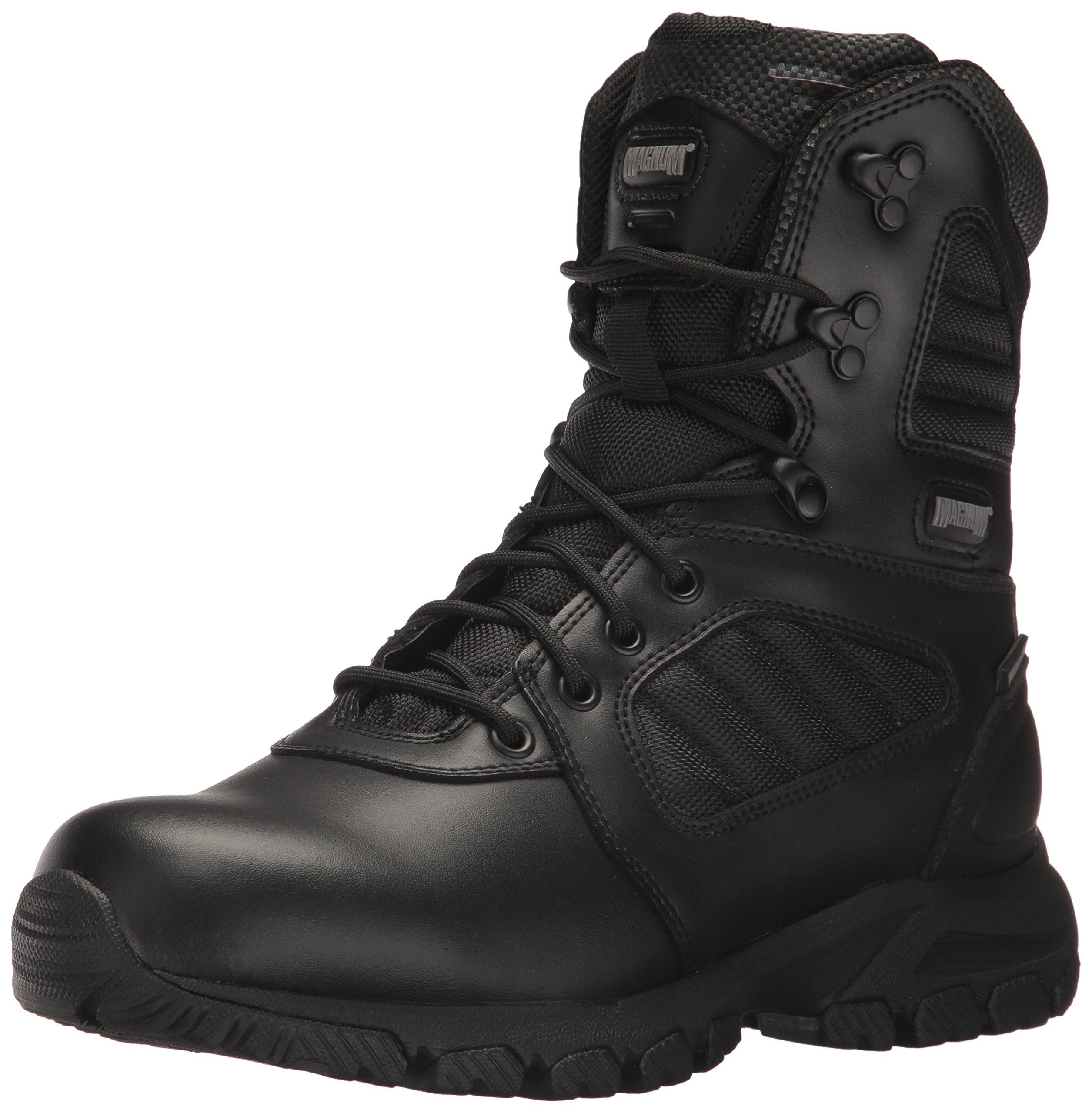 Magnum Men's Response III 8.0 Waterproof Military and Tactical Boot, Black, 7 M US