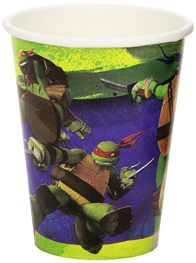 Amscan - Cubertería para Fiestas Tortugas Ninja (RM552466): Amazon.es: Juguetes y juegos