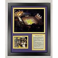 Legends Never Die University of Arkansas Razorback Stadium Framed Photo Collage 11 x 14-Inch