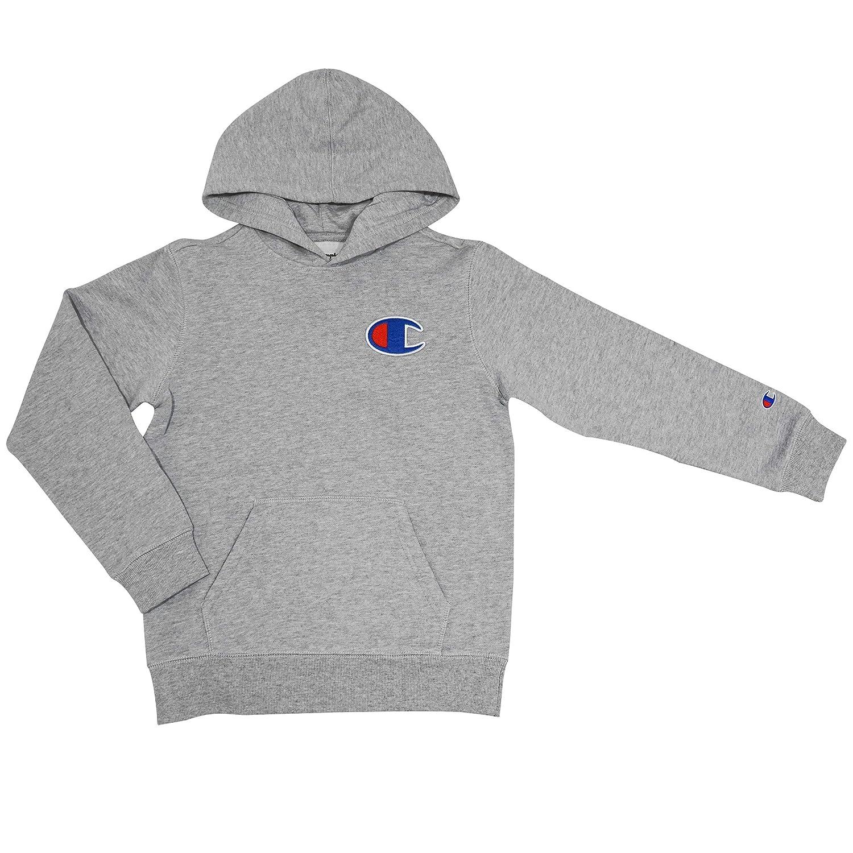 Champion Boys Heritage Big C Logo Pullover Hoodie Sweatshirt