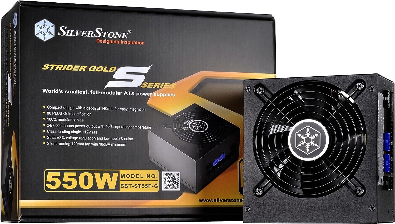 Silverstone Sst St55f Gs V 3 0 Strider Gold S Serie Computer Zubehör