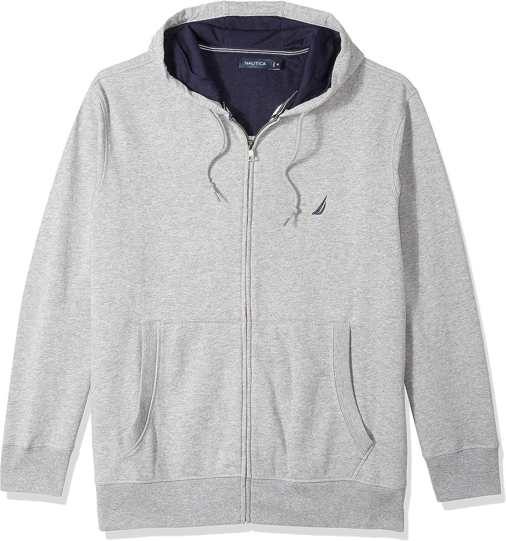 Nautica Mens Full-Zip Sweater Hoodie Sweatshirt Sweatshirt