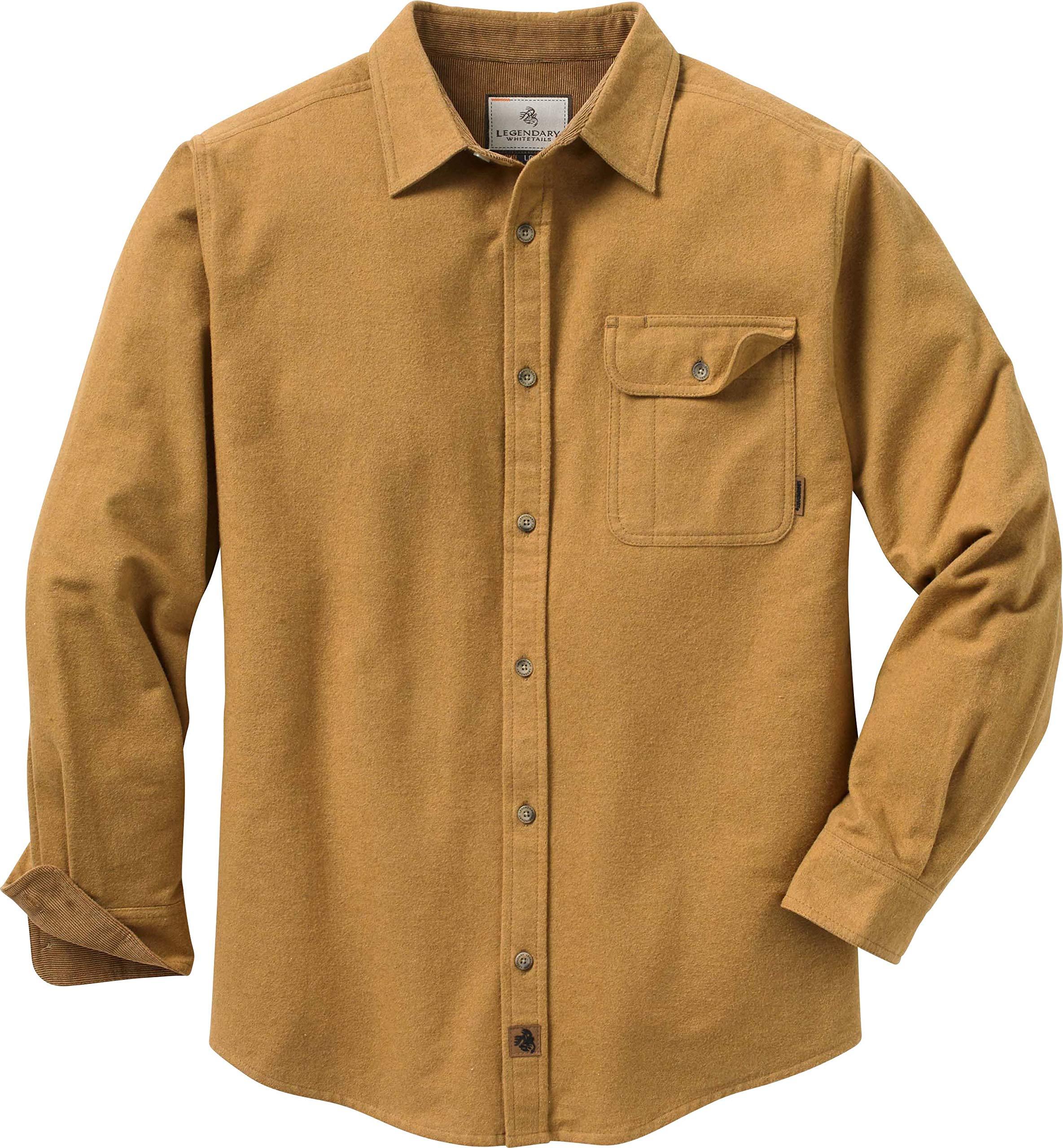 Legendary Whitetails Men/'s Buck Camp Flannels Solid Heather