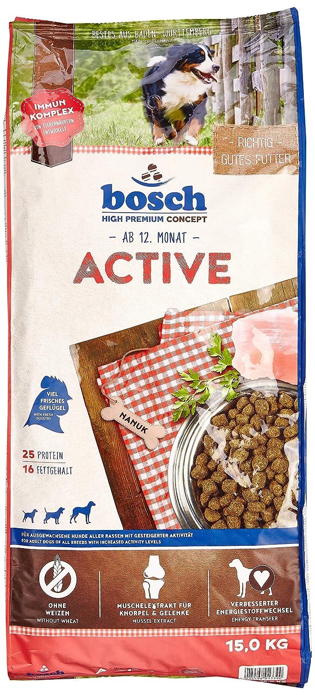 Bosch Active Croquette pour Chien Adulte 15 kg 4015598013390