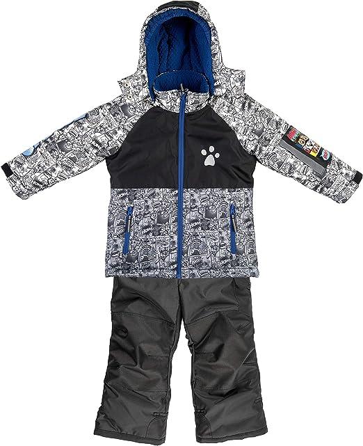 Paw Patrol Childrens Boys Lets Snow Grey Coat