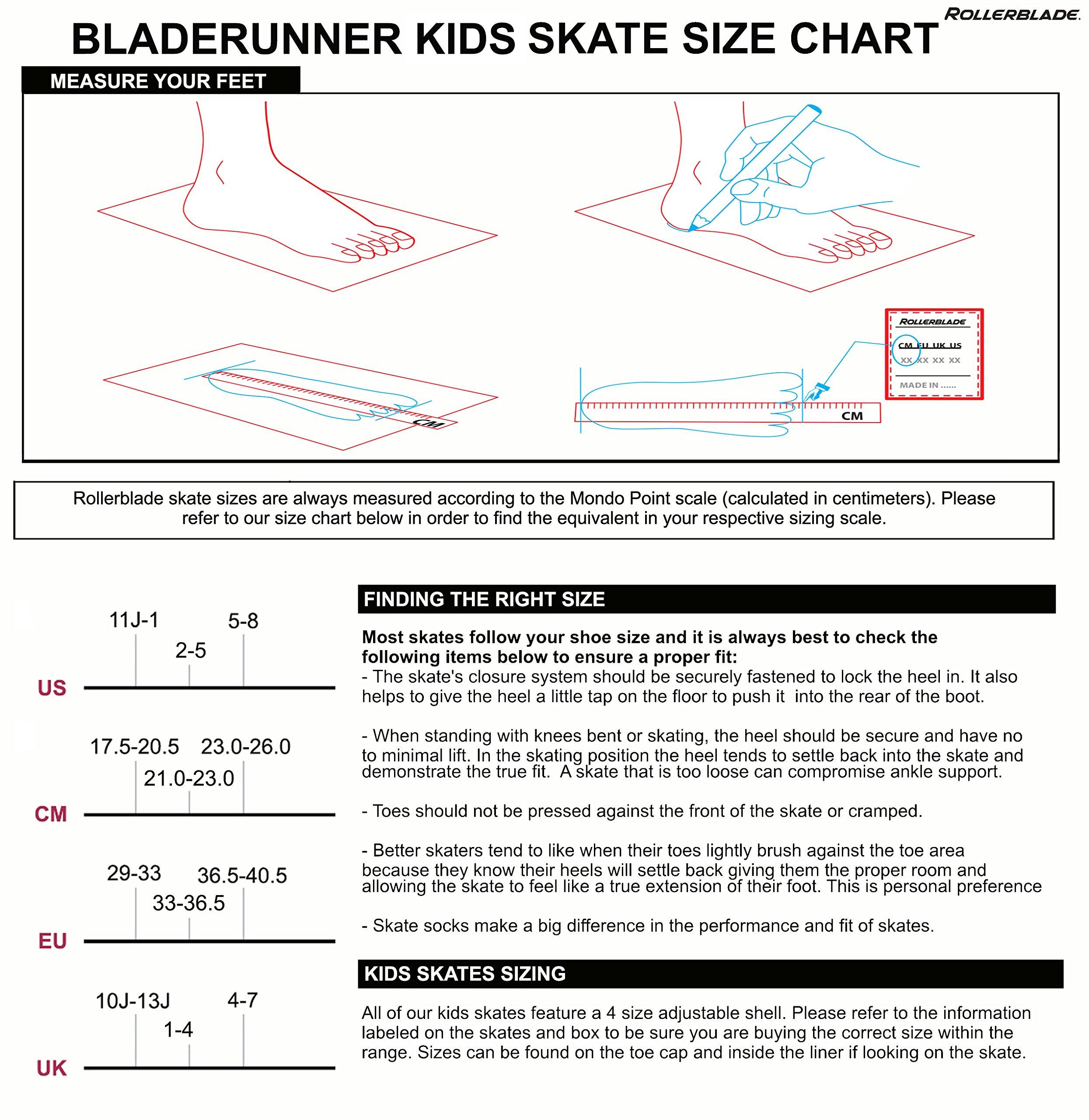 Rollerblade Bladerunner Phoenix Girls Adjustable Fitness Inline Skate, White and Pink, Junior, Value Performance Inline Skates, Youth Junior 1 to 4 by Rollerblade (Image #4)