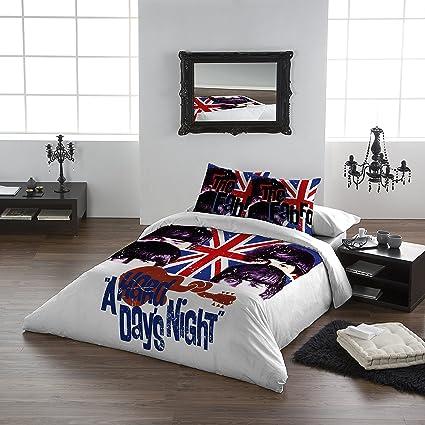Amazon.com: The Beatles - HARD DAY\'S NIGHT - Duvet & Pillowcase ...
