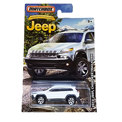 MATCHBOX LIMITED EDITION JEEP ANNIVERSARY EDITION WHITE 2014 JEEP CHEROKEE TRAILHAWK DIE-CAST: Toys & Games