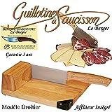 Le Berger Toque Chef Affettatrice universale a ghigliottina per salame, formaggio, salumi, affila-lama integrato