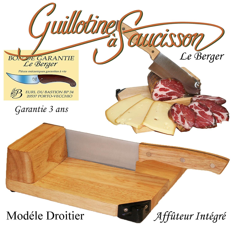 Affettatrice Universale a taglia-salame formaggio Salumi Toque Chef by Il Berger Affilatore Insuperabile Du Bastion