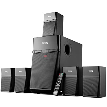 0c029623e52 Amazon.com  Frisby Home Theater 5.1 Surround Sound System with ...