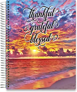 Tools4Wisdom 2021 Planner 2021 Calendar - 8.5 x 11 Hardcover - Starting December 2020 to Dec 2021 Daily Planner w/Colorful Interior - Vertical Weekly Planner w/Monthly Planner Tabs, Stickers - Q4SC