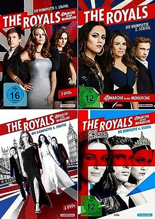 The Royals - Die komplette 1. + 2. + 3. + 4. Staffel