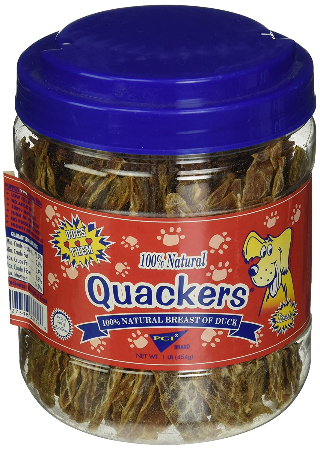 1-pound PCI QUACKERS 1LB CANISTER