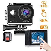 Deals on ACTMAN Action 4K Touch Screen 16MP Waterproof Camera