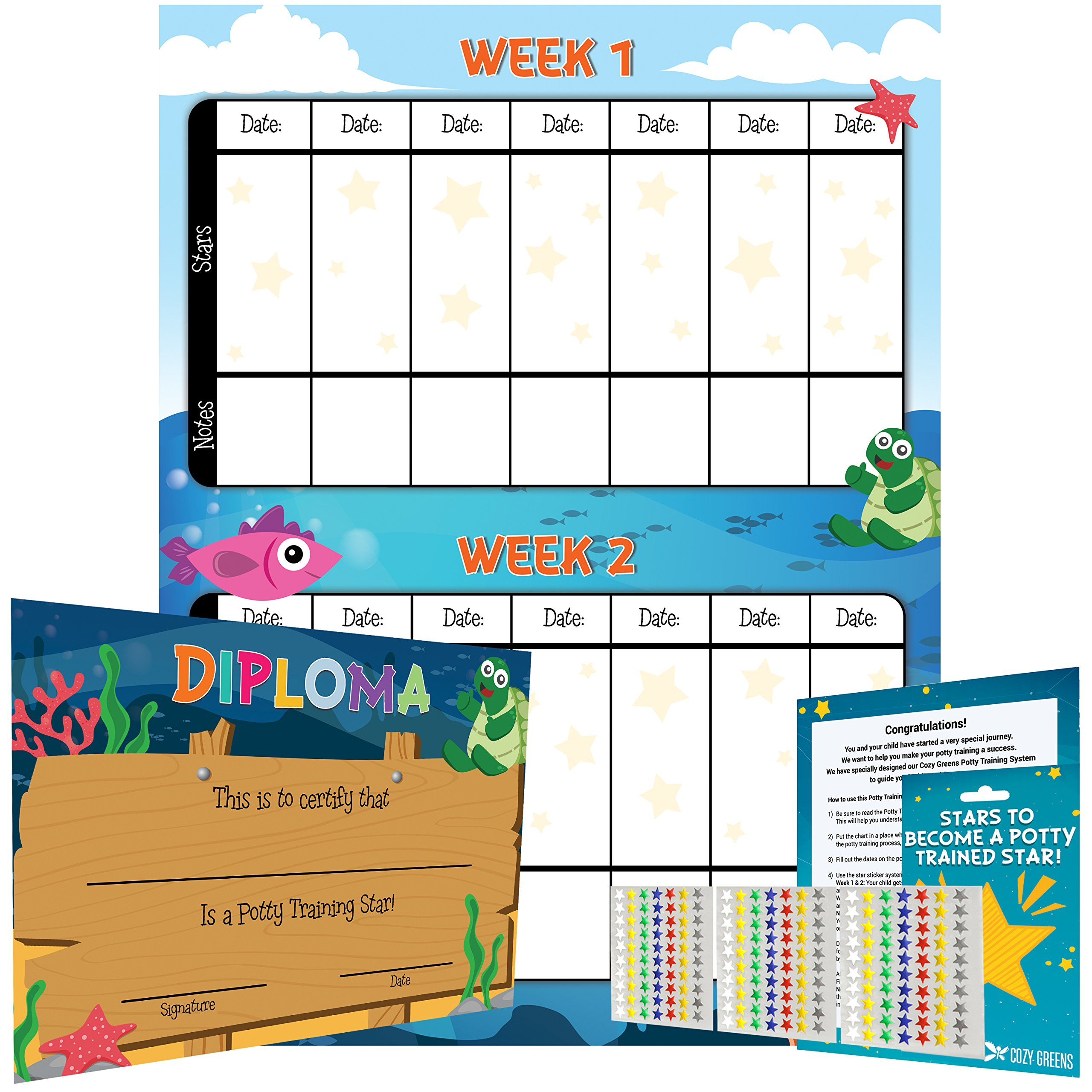 potty training chart for boys and for girls best reward sticker chart marks behavior progress motivational
