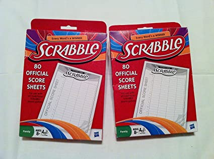 Buy Scrabble Score Sheet  Pack Online At Low Prices In India
