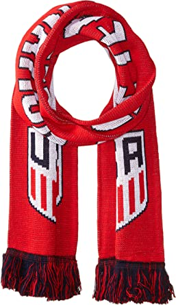 One Team Red One Nation Official US Soccer Scarf
