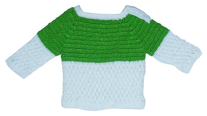 Sr Handicrafts Baby Boys Wool Sweater Sh011 6 12 Months Green