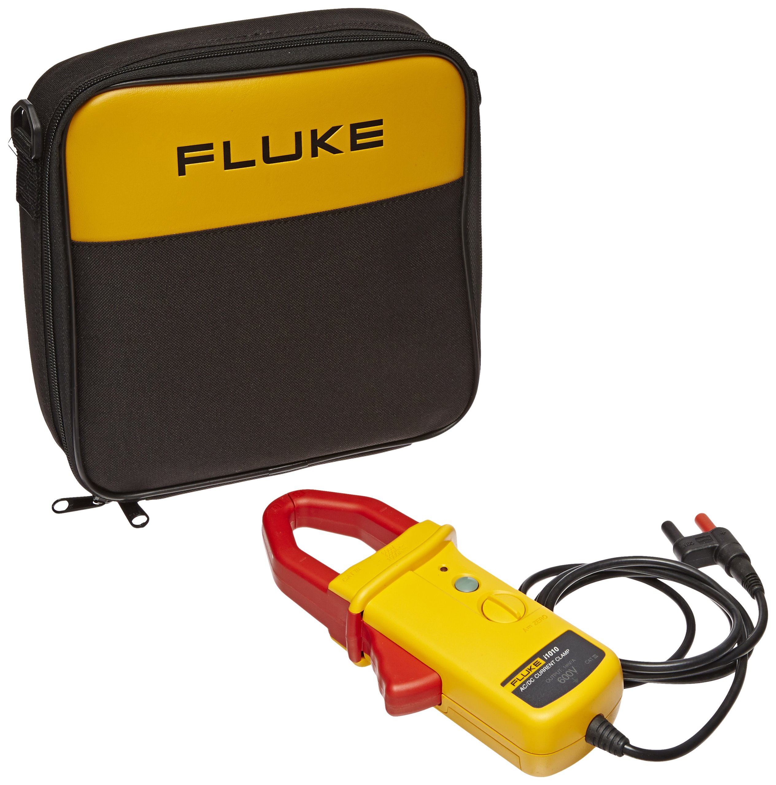 Fluke I1010-KIT AC/DC Current Clamp Kit with Carry Case, 600V Voltage, 600A AC, 1000A DC Current