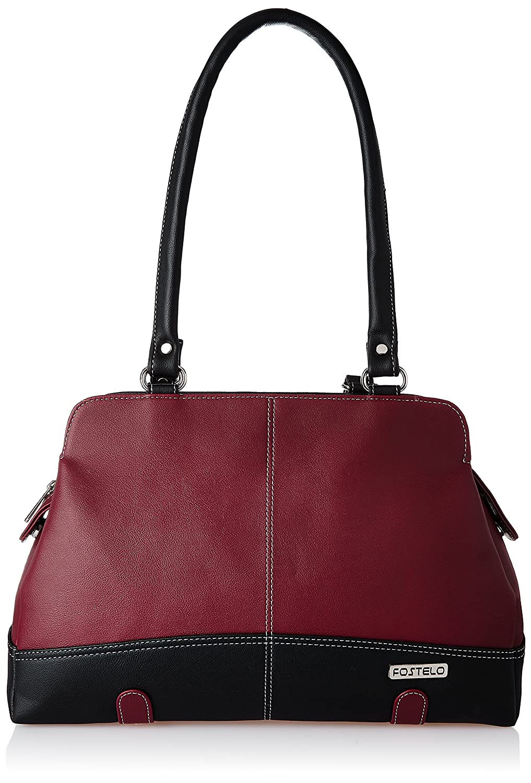 ca24e9e552 Fostelo Aurielle Women s Handbag (Maroon)  Amazon.in  Shoes   Handbags