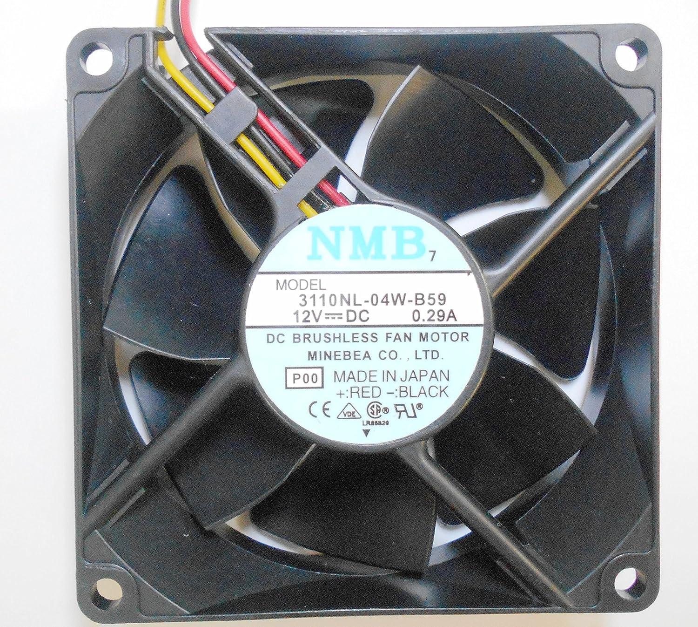 NMB 3110 nl-04 W-b59 12 V 0,29 A 3 Draht Cooling Fan – 80 * 80 * 25 ...