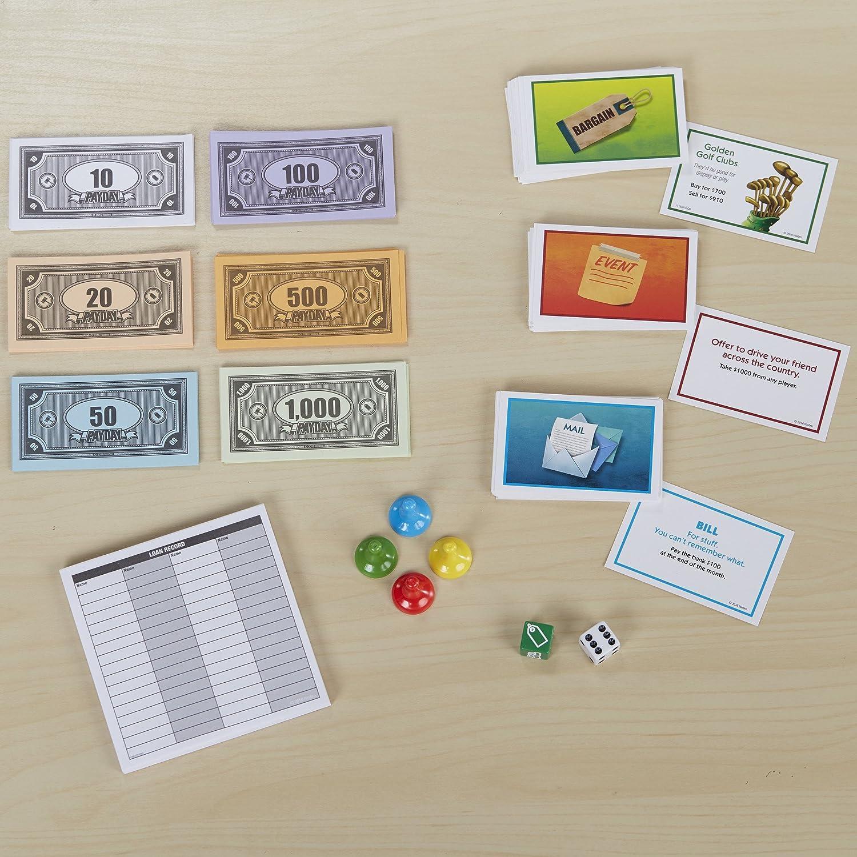 Hasbro Payday Niños y Adultos Simulación económica - Juego de Tablero (Simulación económica, Niños y Adultos, Niño/niña, 8 año(s), 100 Pieza(s)): Amazon.es: Juguetes y juegos