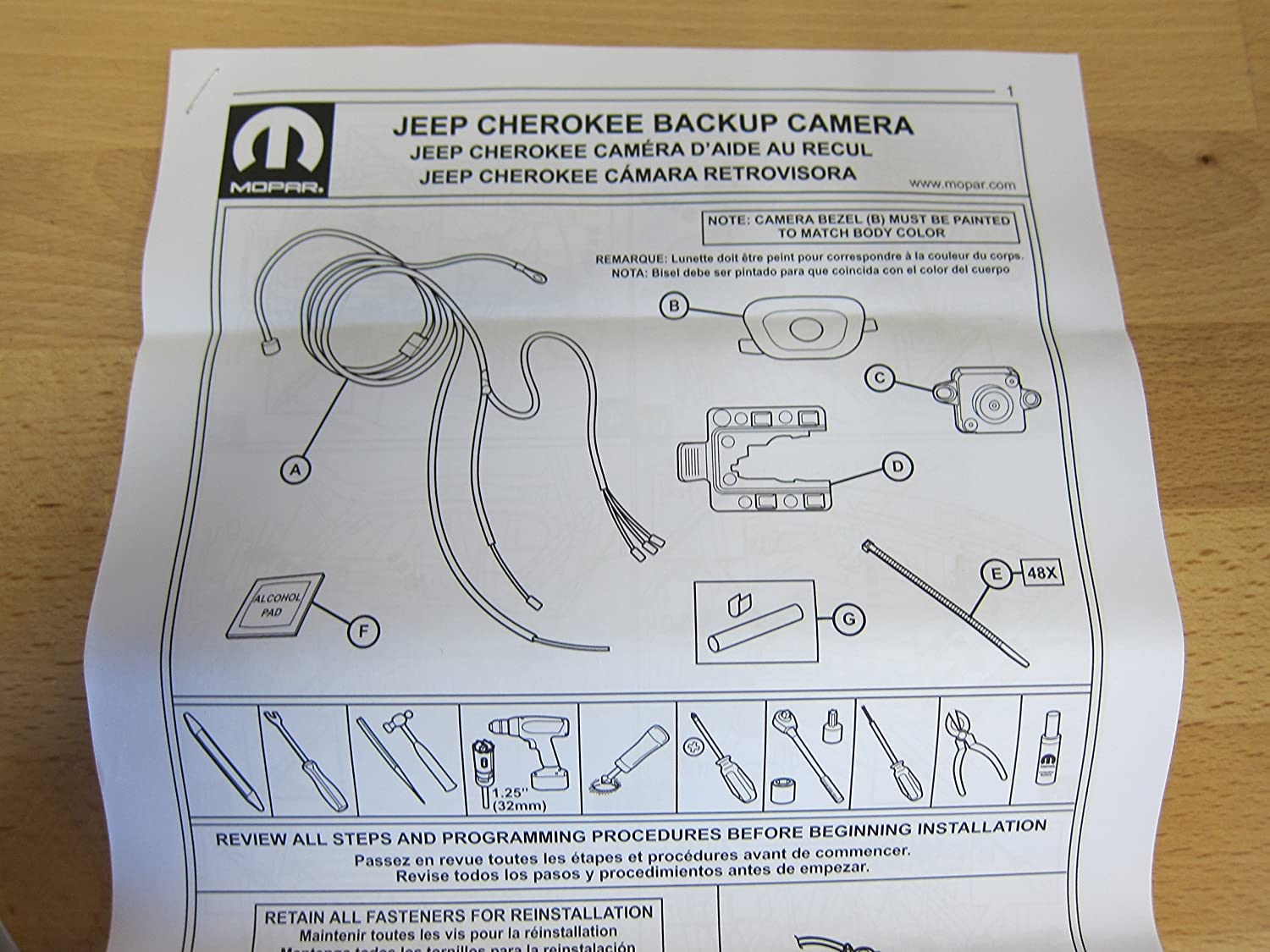 Amazon Jeep Cherokee Rear View Reverse Back Up Camera Kit – Jeep Backup Camera Wiring Diagram