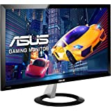 Asus VX238H Gaming Monitor, 23'' FHD 1920x1080, 1 ms, HDMI, D-Sub, Low Blue Light, Flicker Free