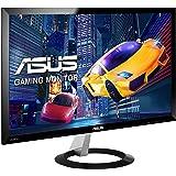 Asus VX238H 58,4 cm (23 Zoll) Monitor (Full HD, VGA, HDMI, 1ms Reaktionszeit) schwarz