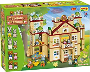 Androni Unico Plus 8926 Maximilian Families - Hotel para Construir (296 Piezas): Amazon.es: Juguetes y juegos