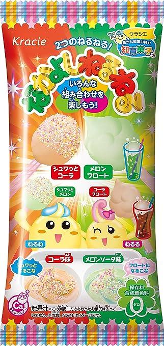 Kracie Nakayoshi Neruneru cola y melón sabor DIY Candy Gummy ...