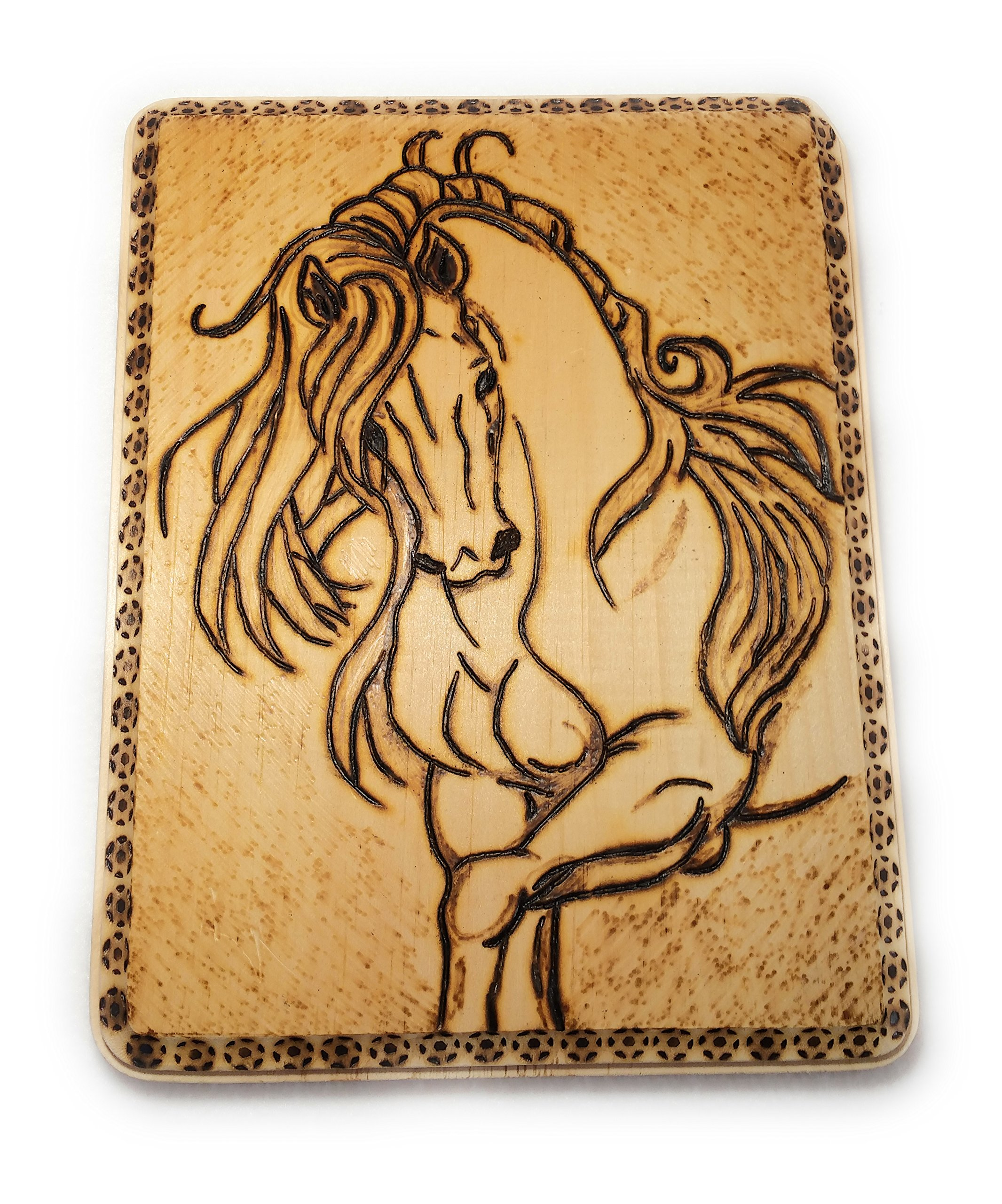 Home Decor Wood Burned Wall Hanging by Cimber's Home Decor+More (Image #2)