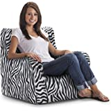 Big Joe Duo Chair, Zebra