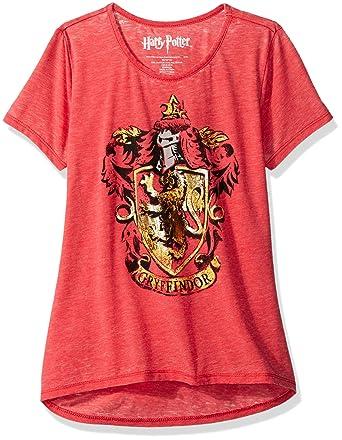 6b88c09e7 HARRY POTTER Girls Fashion Tee Shirt T-Shirt  Amazon.ca  Clothing ...
